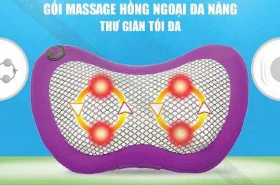 Hướng dẫn sử dụng gối massage hiệu quả tốt