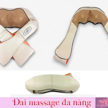 Đai massage hồng ngoại đa năng-matxa lưng bụng vai eo toàn thân