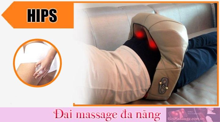 đai massage toàn thân vòng ba